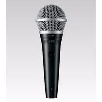 Shure Pga48- Qtr Micrófono Dinámico Con Cable De 4.5m