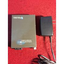 Convertidor De Fibra Optica Trendnet Tfc-110msc