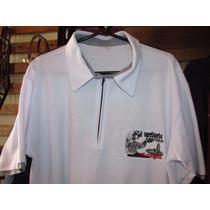 Camisa Polo Masc Comitiva Território Caipira Branca