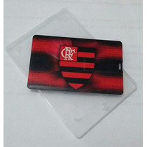 Pen Drive Cartão Flamengo 8gb