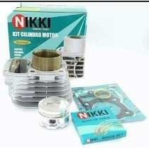 Kit Cilindro Motor Com Pistao Nikki E Aneis Rik Nx400 Falcon