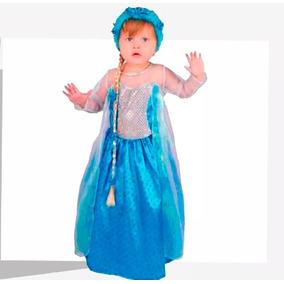 Disfraz De Frozen De 6 A 12 Meses ( Solo El Vestido)