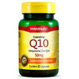 Coenzima Q10 60 Cápsulas - Maxinutri # Recuperação Muscular