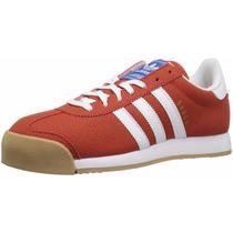 Tennis Zapatillas Adidas Samoa Rojo 100% Originales 9.5