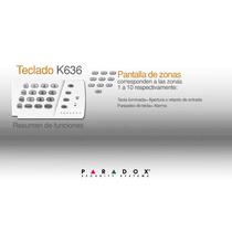 Teclado K636 Paradox Original