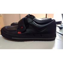 Zapatos Negros De Cuero Para Colegio Marca Kickers