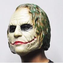 Mascara Borracha Coringa Joker Latex Vilao Batman Carnaval