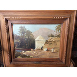 Liebert Charles, Antigua Pintura Orientalista Francesa.