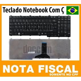 Teclado P/ Toshiba L350 L500 L550 P200 P300 A500 A505 Com Ç
