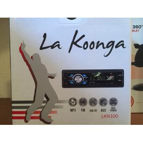 Reproductor De Carro Konga