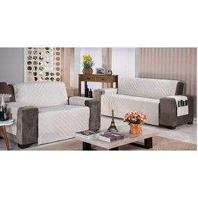 Protetor Sofa Sobre / Sob Medida 2 Capas 2 Lug +1 Poltrona
