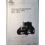 Manual De Repuestos Tractor Pauny 280a 250c 250a 230c 230a