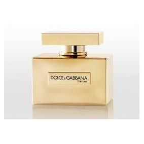 Perfume The One Gold Dolce & Gabbana Fem Edp 75ml Original