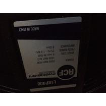 2 Bajos Rcf P400 2000w Subwoofer De 18 Pulgadas Nuevos 100%