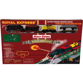 (d_t) Royal Express Tren A Pilas Y Control Remoto 8104