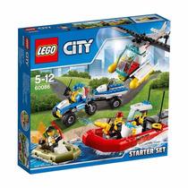 Lego City 60086 Policia Ciudad Set De Inicio Original