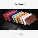 Capa Iphone 6 Couro 4.7 Estilo Carteira Sofisticado Cod132