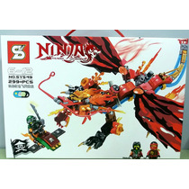 Blocos De Montar Ninja Com 299 Peças