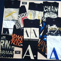 Lote Camisa Armani Importada Camiseta Atacado