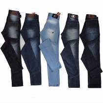 Kit Com 3 Calça Jeans + 2 Bermuda Jeans Masculina Atacado