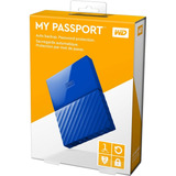 Hd Externo Portátil Wd My Passport 1tb Usb 3.0 12x Sem Juros