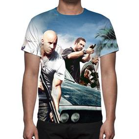 Camisa, Camiseta Filme Velozes E Furiosos 5 Operação Rio