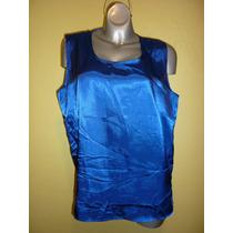 Blusa Marca Notations Color Azul Talla Extra Grande 1x
