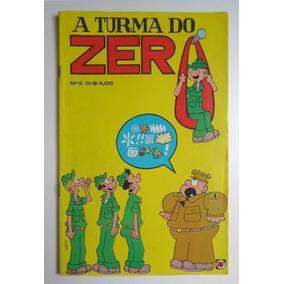 A Turma Do Zero Nº 3 - Editora Rge - Ano 1974