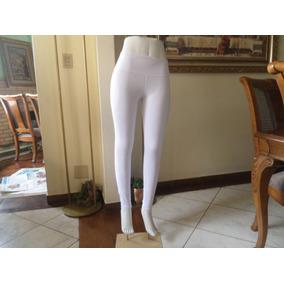Calça Feminina Em Algodão Com Elastano Branca