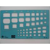 Gabarito Trident Caixas De Cimento Amianto Brasilit Mod A-13