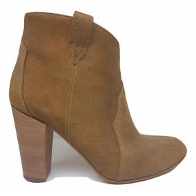 Natacha Zapato Mujer Bota Caña Baja Descarne Suela #1441