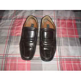 Zapatos De Cuero P/hombre T42