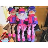 Muñecos Navideños Patas Largas