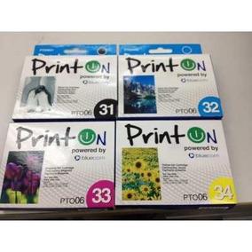 Cartucho Printon / Epson Impresora C67 C87 Cx3700 T063120
