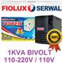 Protetor Estabilizador 1000va 1kva Bivolt * (110 / 220v ) *