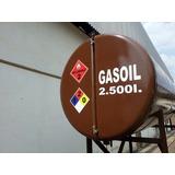 Señales Calcomanias De Seguridad Industrial Tanque De Gasoil