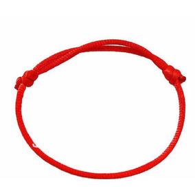 Kit 3 Pulseiras Fita Vermelha Red String Cabala Kabbalah