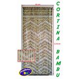 Cortina De Bambu Tratado Para Porta