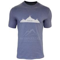 Remera Hombre Makalu Montañismo Trekking Cupon2