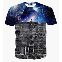 Camisetas Psicodélica 3d