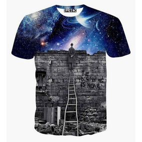 Camisetas Psicodélica 3d + Brinde