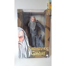 Senhor Aneis Lord Of Rings Gandalf 51cm Neca Eletrônico Raro
