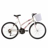 Bicicleta Infantil Feminina Parati 18v Track Bikes Branco