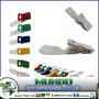 Ganchos Plastico Para Portacarnet Resistente Paq 100 De Unid