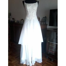 Vestido Novia/15 Años Corset Bordado, Modista Alta Costura