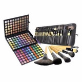 Manta 24 Brochas + Paleta 180 Sombra Maquillaje Profesional