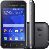 Smartphone Samsung G130bu Galaxy Young 2 Duos Cinza I Novo