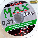 Nylon Tanza Daiyama Max Force 0,31 Mm 9,5 Kg 100 Metros
