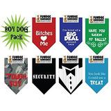 Bandana Fundog (traje Negra)- Collar Para Perros
