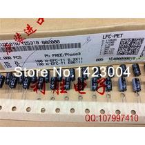 Capacitor Eletrolíticos 25v 100uf 6x11 Novo Rubycon Unidade